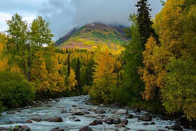Magical Place Photograph - Hatchers Pass Alaska by Melissa Wyatt