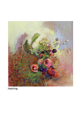 Painting - Hatching by Betsy Derrick
