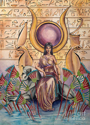 Hathor Digital Art - Hathor by Georges Loewenguth