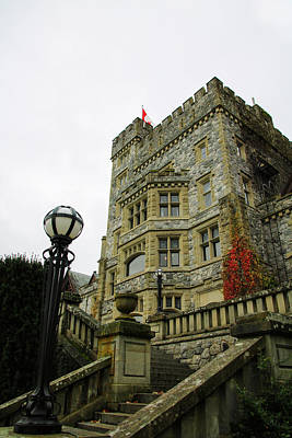Photograph - Hatley Castle by Perggals - Stacey Turner