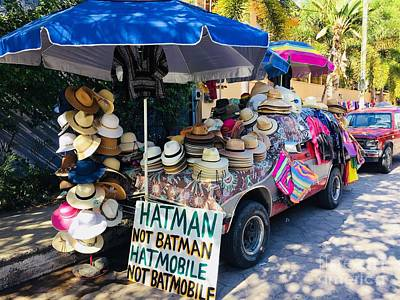 Photograph - Hatman Not Batman by Bill Thomson