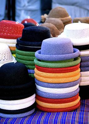 Hats, Aix En Provence Art Print