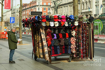 Photograph - Hats And Scarves by Les Palenik