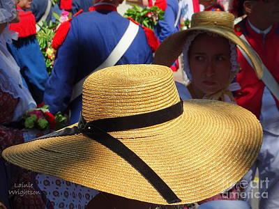 Hats In Saint Tropez Art Print