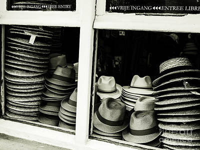 Photograph - Hats Of Bruges by Lexa Harpell