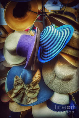 Photograph - Hats Of Yesteryear by Miriam Danar