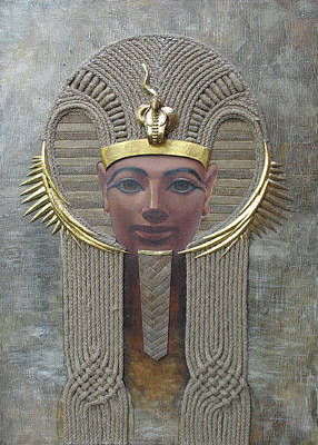 Painting - Hatshepsut. Female Pharaoh Of Egypt by Valentina Kondrashova