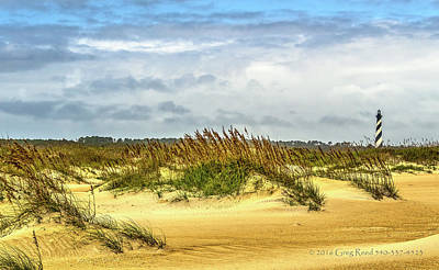 Photograph - Hatteras Island Lighthouse by Greg Reed