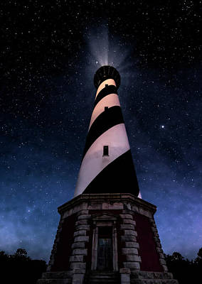 Photograph - Hatteras Light 1 by Barry Cole