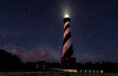Photograph - Hatteras Light 2 by Barry Cole