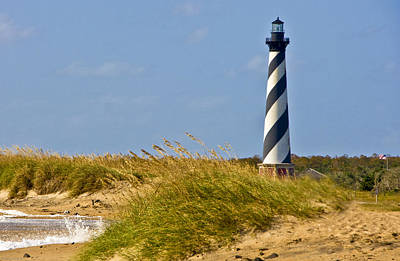 Lighthouses Photograph - Hatteras Lighthouse by Ches Black