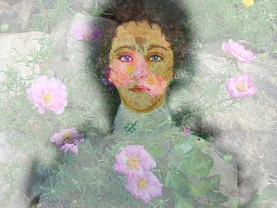 Hattie's Garden Art Print by Patricia Motley