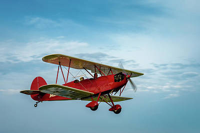 Photograph - Hatz Cb 1 Biplane by James Barber