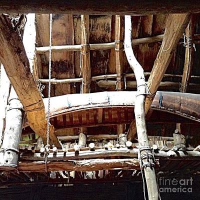 Cooperstown Photograph - Haudenosaunee Longhouse  by Ellen Levinson