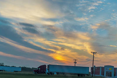 Photograph - Haullin At Sunrise by Nancy Marie Ricketts