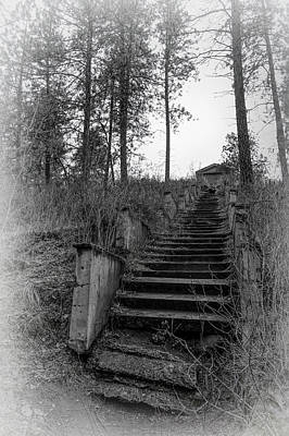 Photograph - Haunted 1,000 Steps - Spokane by Daniel Hagerman