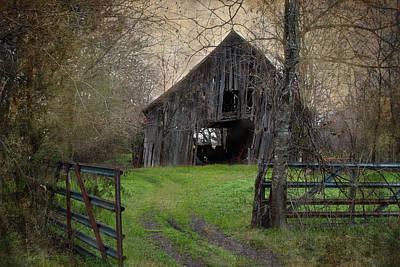 Haunted Barn Art Print