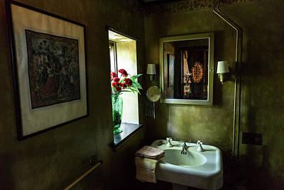Photograph - Haunted Bathroom by Brian Hale