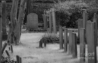 Photograph - Haunted Charleston Cemetery by Dale Powell