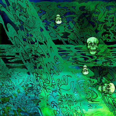 Haunted Hedges Art Print by Grant  Wilson