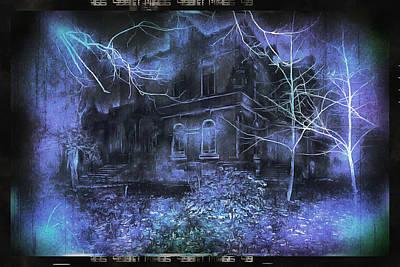 Manipulation Photograph - Haunted Hollw by Mario Carini
