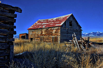 Photograph - Haunted Homestead by Mike Flynn