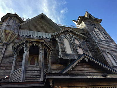 Photograph - Haunted House by Denise Mazzocco
