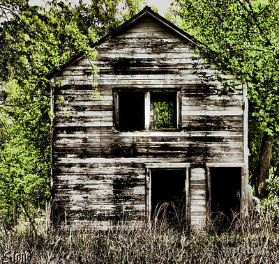 Photograph - Haunted House  by September  Stone