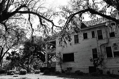 Photograph - Haunted House by Jill Lang