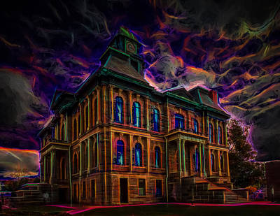 Photograph - Haunted House by John M Bailey