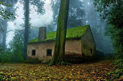Photograph - Haunted House by Jorge Maia