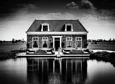 Photograph - Haunted House Next To Lake by Alexandre Rotenberg