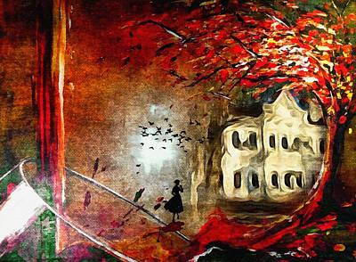 Haunted House Digital Art - Haunted House by Tanya Gordeeva