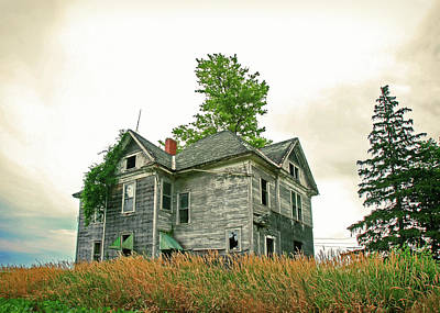 Haunted Houses Photograph - Haunted House by Todd Klassy