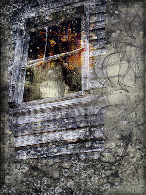 Haunted Impressions Art Print by Nadine Berg