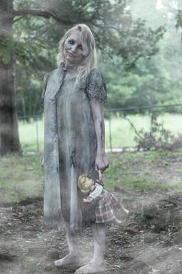 Demon Photograph - Apparation by Karen StClaire