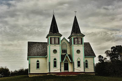 Photograph - Haunted Kipling Church by Ryan Crouse