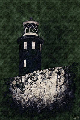 Photograph - Haunted Lighthouse by David Millenheft