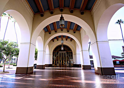 Photograph - Haunted Los Angeles - Union Station by Jenny Revitz Soper