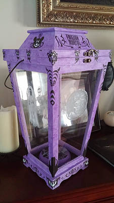 Painting - Haunted Mansion Lantern by Jennifer Hotai