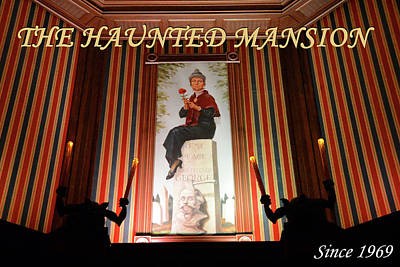 Photograph - Haunted Mansion Since 1969 by David Lee Thompson