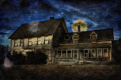 Haunted House Digital Art - Haunted Nights by Gary Smith
