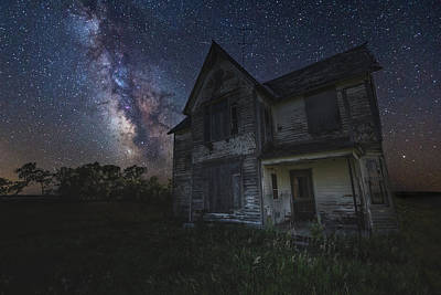 Photograph - Haunted On The Prairie by Aaron J Groen