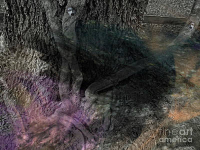 Photograph - Haunted Roots by D Hackett