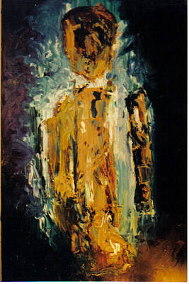 Other Worldly Painting - Haunted by Sandra Dee