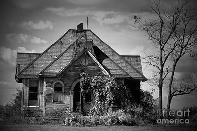 Photograph - Haunted School House by David Arment