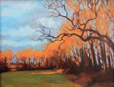 Painting - Haunting Glow by Andrew Danielsen