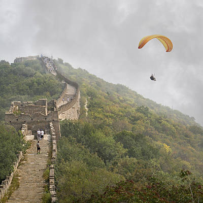 Great Mysteries Photograph - Haunting Great Wall by Betsy Knapp