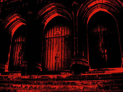 Photograph - Haunting Red by Nathan Little