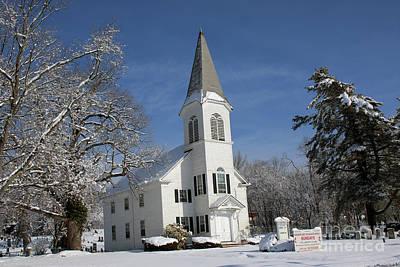 Photograph - Hauppauge United Methodist Church  by Steven Spak